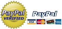 Paypal Verified - You don't need a PayPal account to pay using your Credit Card